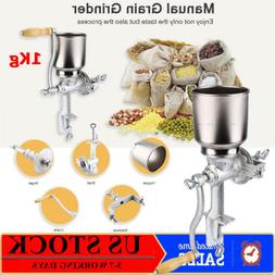 Manual Grinder Stainless Corn Grain Wheat Nut Flour Mill Gri