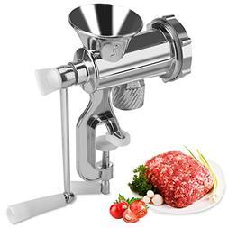 Manual Meat Grinder Hand Crank Chopper Mincer Sausage Maker