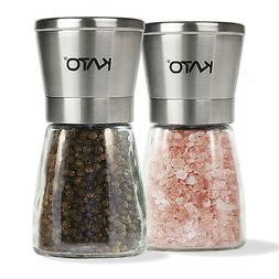 Manual Salt and Pepper Grinder Set Stainless Steel Pepper Mi
