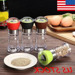 Manual Stainless Steel Salt Pepper Grinder Spice Mill Kitche