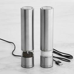 Cole & Mason Electronic Salt & Pepper Mill Giftset, 215mm Ri