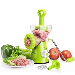 Artence Meat Grinder,Stainless Steel Plate,Powerful Suction