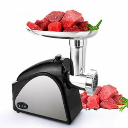 Meat Grinder Electric for Home Use with 3 Grinding Plates an