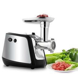 Meat Mincer with 3 Grinding Plates and Sausage Stuffing Tube