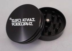 "Medium 2.2"" Black 2 Piece SANTA CRUZ SHREDDER Aluminum Grind"
