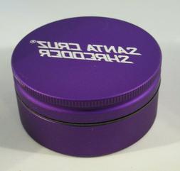 "Medium 2.2"" Matte Purple 2 Piece SANTA CRUZ SHREDDER Grinder"