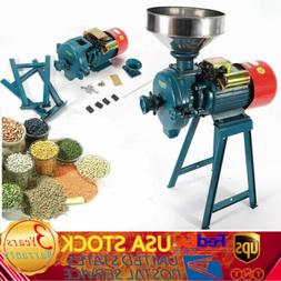 Mill Cereals Grinder Electric Feed/Flour Animal Food Rice Co