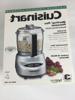 Cuisinart Mini-Prep Plus Food Processor Brushed Chrome
