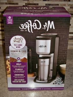 Mr Coffee Single Cup Brew Grind & Taste Coffee Maker New Sea
