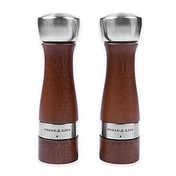 Cole & Mason Oldbury Salt and Pepper Gift Set, Walnut