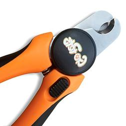 GoPets Pet Nail Clipper for Large Dogs and Cats with Nail Fi