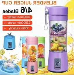 Portable Electric Juicer Blender Fruit Baby Food Mixer Meat