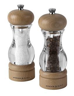 Cole & Mason Precision 105 Acrylic and Beech Salt and Pepper