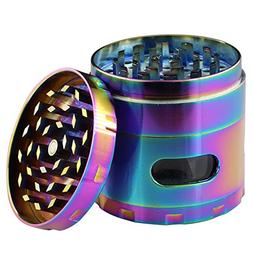 DCOU New Design Premium Herb Grinder 2.5 Inches 4 Piece Toba