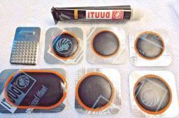 Repair Kit bicycle inner tube flat puncture 6 patch+glue+gri