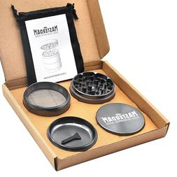 Masterdam Rolling Supplies 2.5-Inch 4 x Layer Aluminum Herb