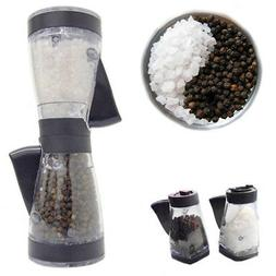 Salt Pepper Mill Grinder Duet Shaker Kitchen Dining Table Pr
