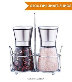 Premium Salt & Pepper Grinder Set of 2 - Salt and Pepper Sha