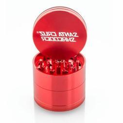 "SANTA CRUZ SHREDDER - MEDIUM 4 PIECE GRINDER PURPLE 2.125"""