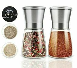 Seasoning Storage Spice Grinder Salt Pepper Shaker Stainless