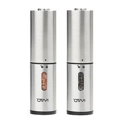 Vina Set-2 Pack Stainless Steel Salt and Pepper Mill Grinder