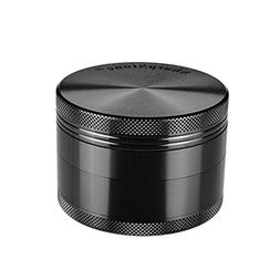 "J.Shine Sharpstone 2.2"" Solid Top 4 Piece Herbs Grinder  - A"