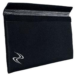 Smell Proof Bag - Large Black Odor Proof Pouch 11x6 Inches,