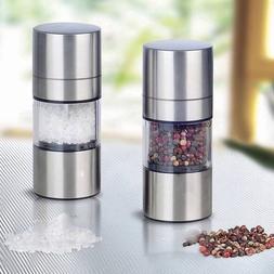 Spice Grinder For Salt And Pepper Mill Vintage Metal Refilla