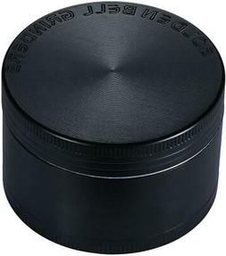 """Spice Herb Grinder  2"""" Black Quality Made 3 Chambers"""