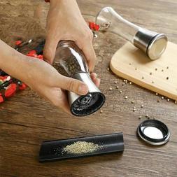 Stainless Steel Manual Salt Pepper Spice Sauce Mill Grinder