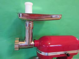 STAINLESS STEEL Meat Grinder for Kitchenaid Mixer by Smokeho