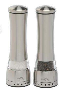 Stainless Steel Salt and Pepper Grinder Mill Set Salt and Pe