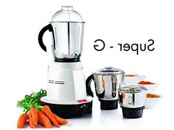Premier Super G 3 Jar Kitchen Machine Mixer Grinder 110 Volt