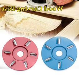 Timber Digging Milling Cutter Wood Turbo Carving Disc Tea Tr
