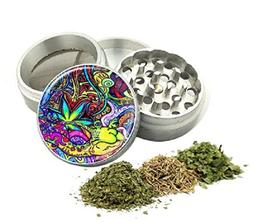 Tobacco Grinder Aluminum Herb/Spice/Weed Alloy Smoke Crusher