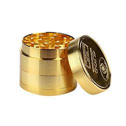HotMoon NEW Premium Tobacco Herb Spice Grinder Durable 4 Pie