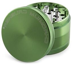 Tobacco-Herb-Spice-Grinder-Herbal Alloy-Weed-Smoke-Metal-Chr
