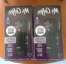 TWO NEW Mr. Coffee 12 Cup Electric Coffee Grinders With Mult