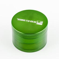 Golden Gate Grinder 2.5 Inch Ultimate Herb Grinder 4-piece A