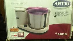 Ultra Dura+ Table Top 1.25L Wet Grinder with Atta Kneader, 1