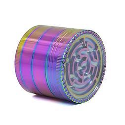 UTOPP Unique Grinder MAZE GAME Rainbow Colorful Grinder 4 Pi