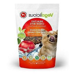 Vegalicious 1 Pouch Appleberry Burst Healthy Chew Bits Dog T