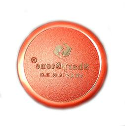 "Sharpstone Version 2.0 2.2"" 4 Piece Solid Top Grinder Red Ne"