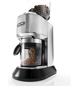 DeLonghi KG521M Stainless Steel DEDICA Burr Grinder with LCD