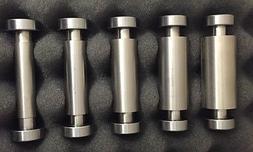 SMALL WHEEL Set for Knife Belt Grinder,5 Sizes, Knife Making