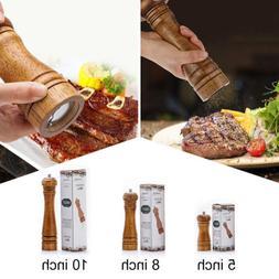 Wood Pepper Spice Mill Grinder Handheld Seasoning Grinder Ki