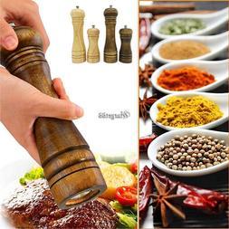 Wood Pepper Spice Mill Grinder Handheld Seasoning Grinder Co