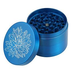 DCOU New Design Premium Zinc Alloy Herb Grinder 2.2 Inches 4